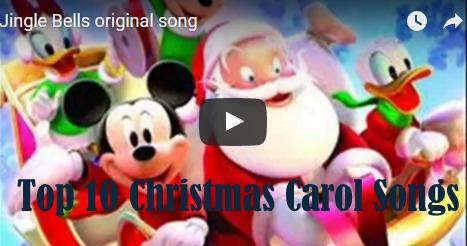 top 10 christmas carol songs