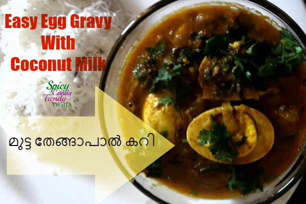 Easy Egg Gravy With Coconut Milk