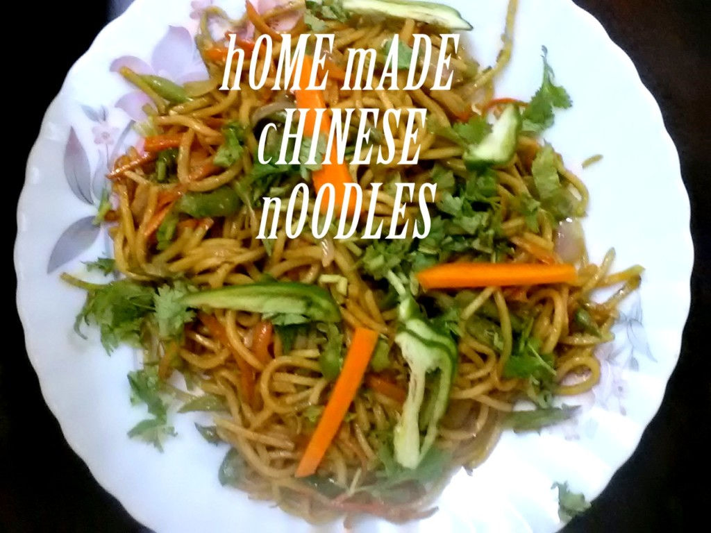 Easy to Make Chinese Noodles