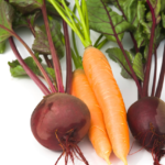 carrot and beetroot smash