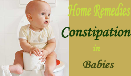 9 Quick Home Remedies Relieve Constipation in Babies of 4-12 Months