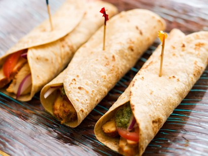 Chicken Roll Bengali Style