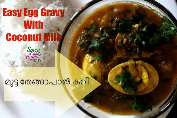 Easy Egg Gravy With Coconut Milk