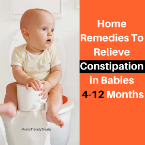 Home remedies to relieve constipation in babies
